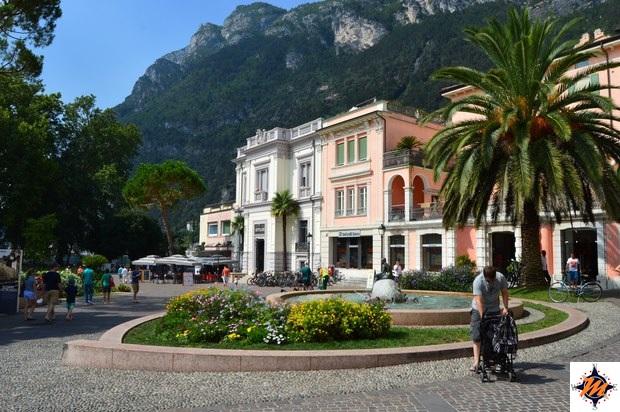 Riva del Garda, piazza del Brolio