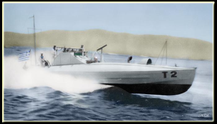 Motor Torpedo Boats At Work