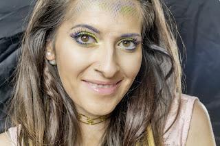 makeup for brown eyes easy tutorial mermaid makeover laurajanestyle