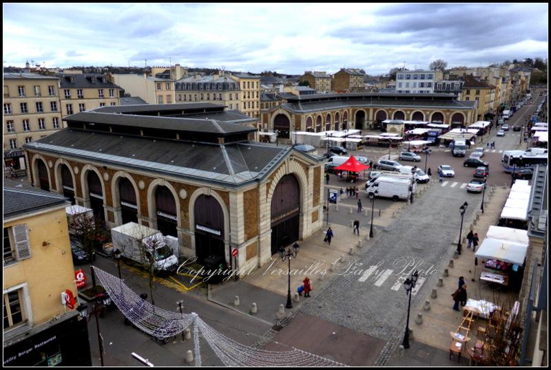 Place du marché Notre-Dame Versailles