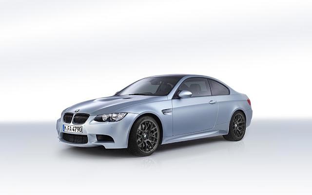 Frozen Silver BMW M3