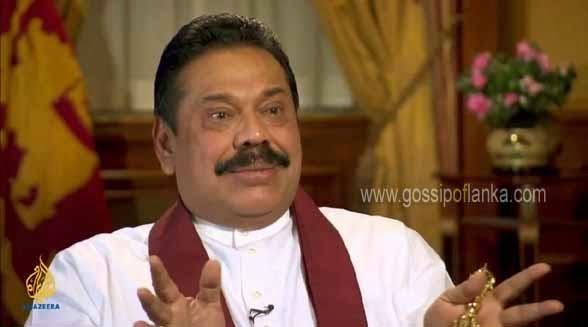 Former Sri Lankan President Mahinda Rajapaksa