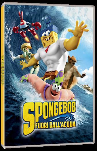 DVD di SpongeBob Fuori dall'acqua