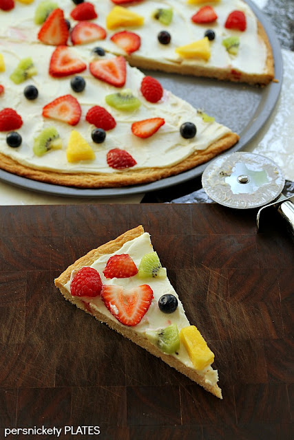 Persnickety Plates: Fruit Pizza #surpriserecipeswap