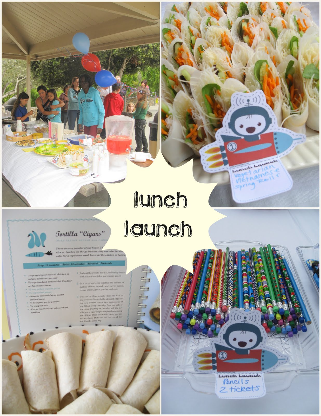 THE LUNCH LAUNCH School Lunch Ideas And A Back To Party