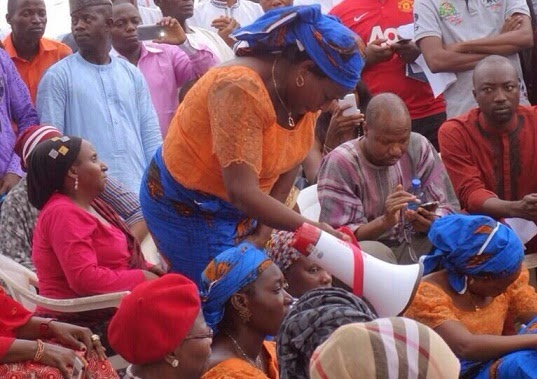 jonathan arrest chibok women leader