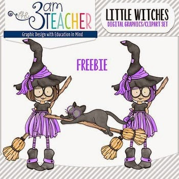 Halloween Little Witches Mini Freebie