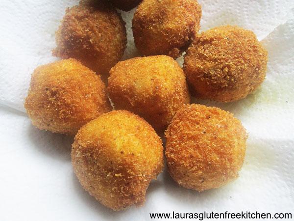 fried Potato Balls