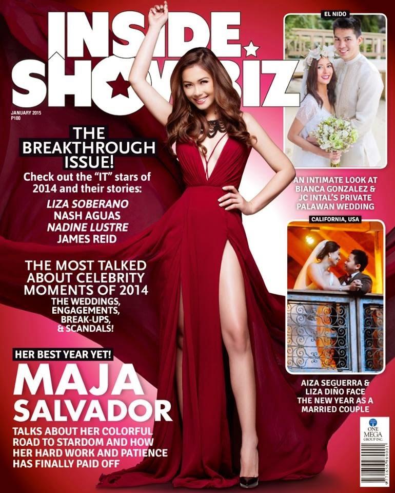 Maja Salvador - Inside Showbiz January 2015