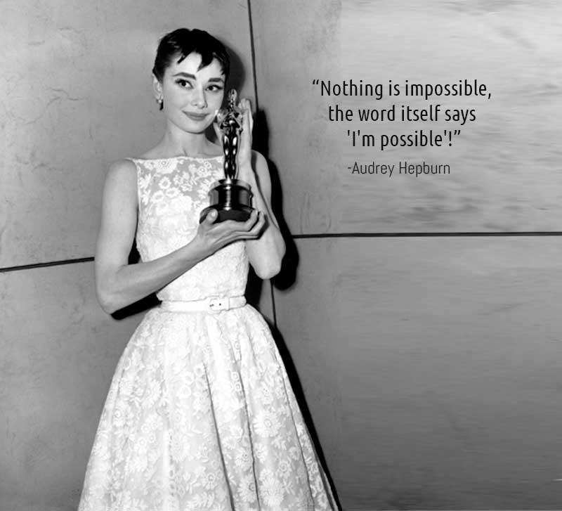 hepburn s inspirational quotes retro dresses