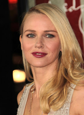 Naomi Watts Side Sweep Hairstyle