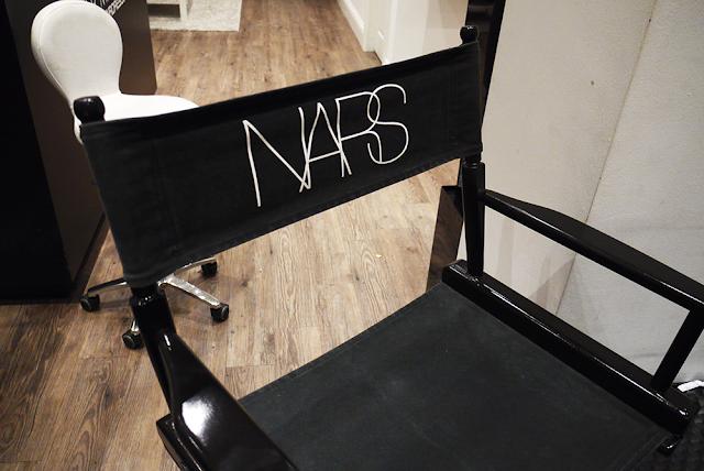 nars makeup mua artist chair