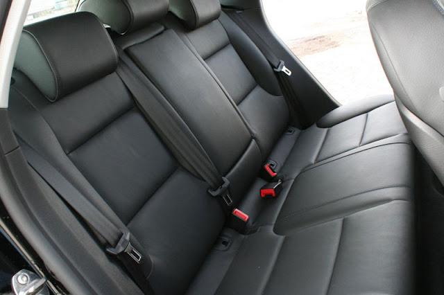 2011 Audi A3 TDi Interior Back rear