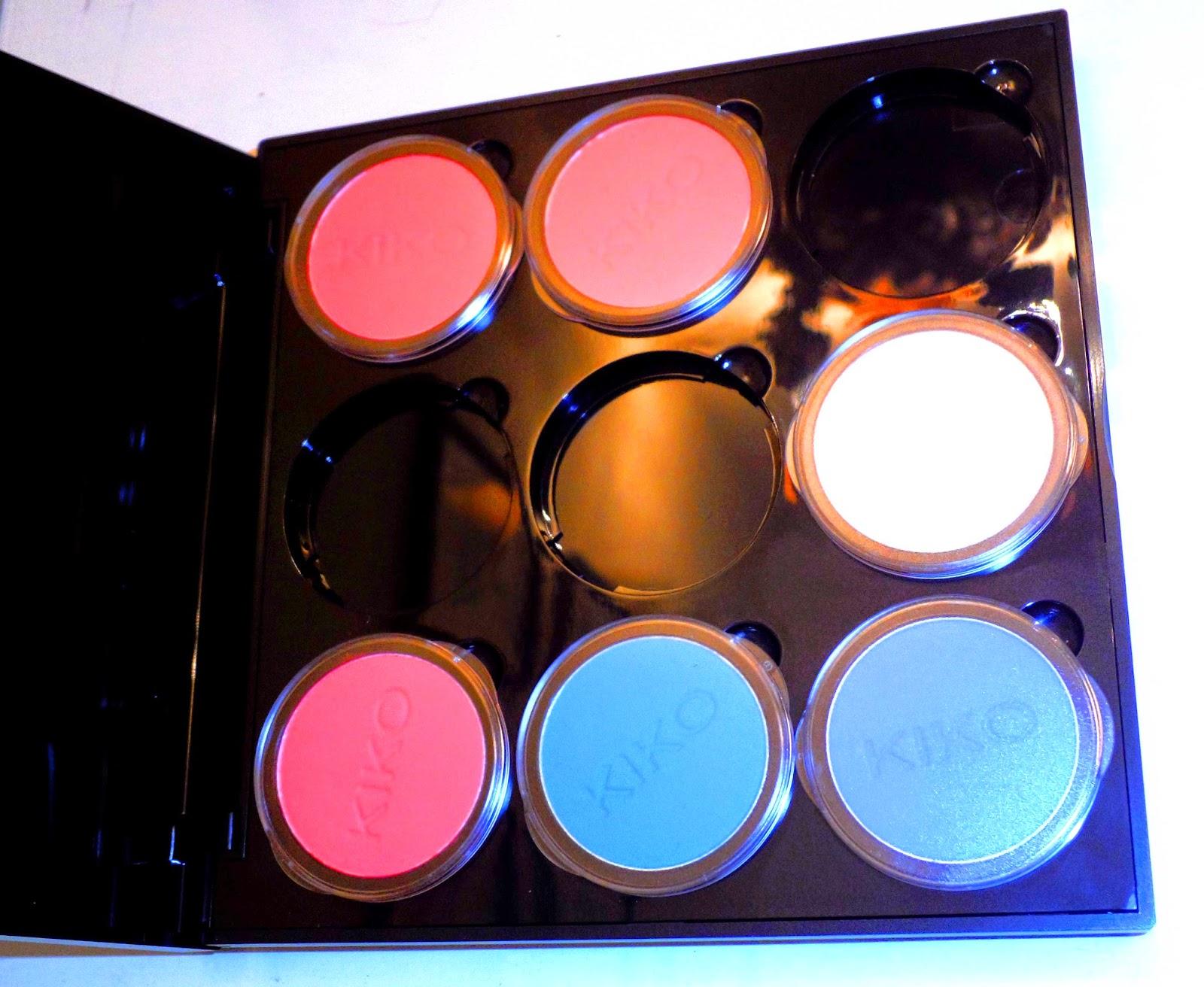 paleta personalizada kiko sombras de ojos