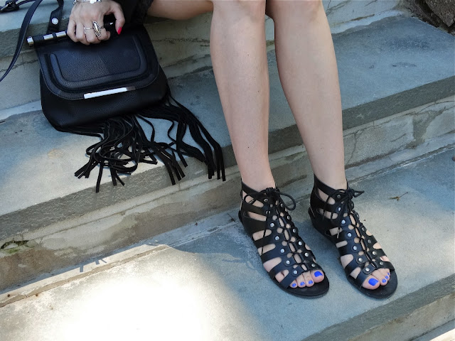 Gladiator Sandals from Forever 21, as worn by House Of Jeffers | www.houseofjeffers.com