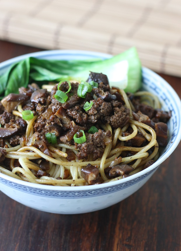 Taiwanese Minced Meat Noodles by SeasonWithSpice.com