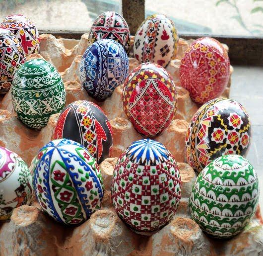 Annar uova di pasqua - Uova di pasqua decorati a mano ...