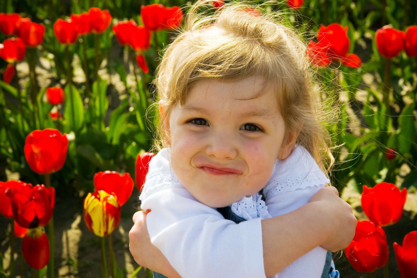 little girl hug gifs