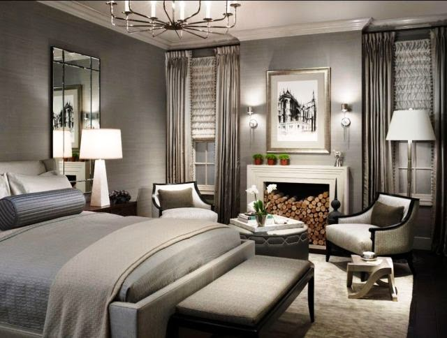 metallic bedroom paint ideas
