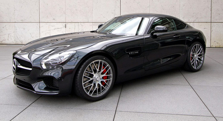 Do You Like New Mercedes-AMG GT in Black?