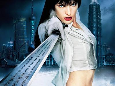 Milla Jovovich Actress Spicy Wallpaper