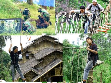 tempat wisata team building