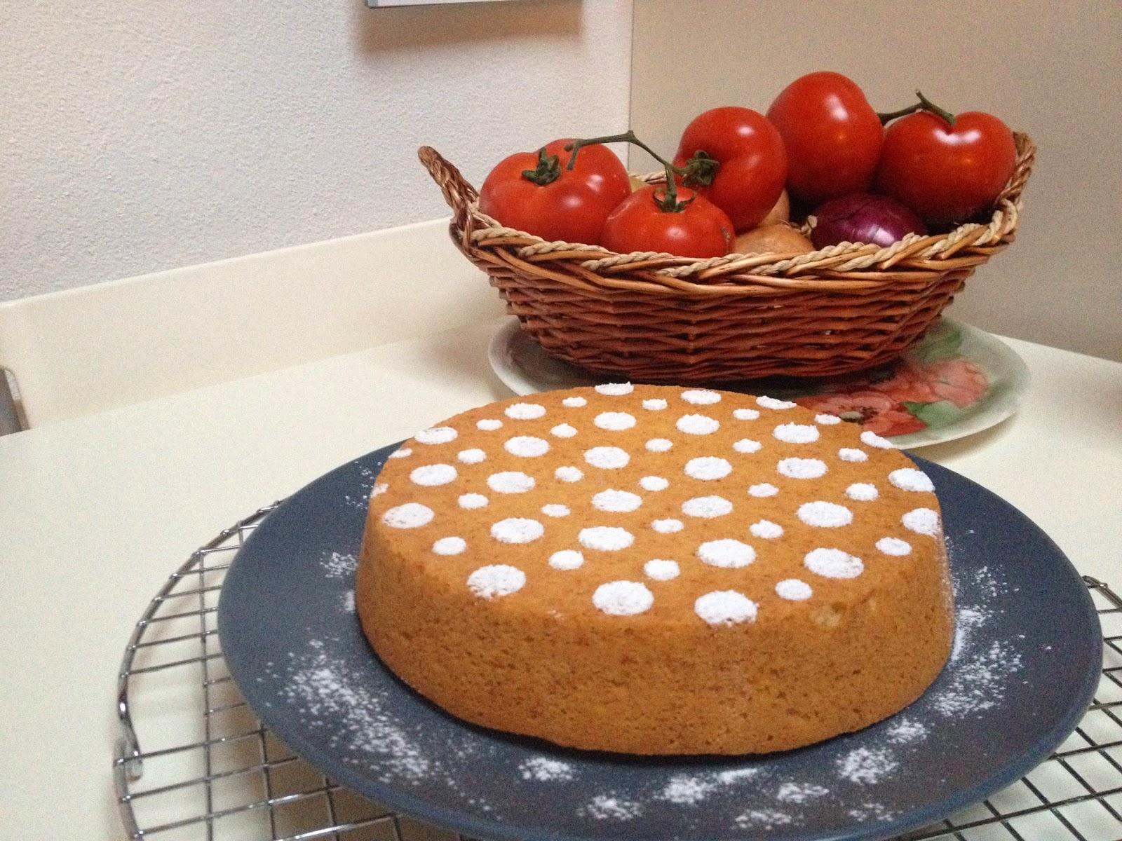 torta soffice con sciroppo d'agave!