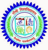 Ranchi University Time Table 2015