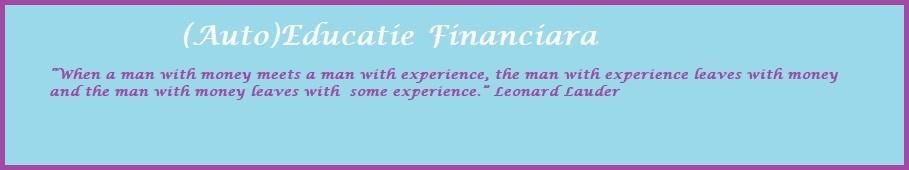 (Auto)Educatie financiara
