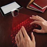Cube Laser Virtual Keyboard berukuran gantungan kunci
