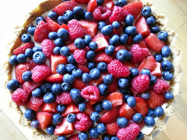 Nigella Lawson's Easy Summer Berry Tart