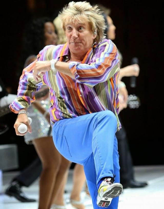 Rod Stewart quiere seguir divirtiéndose