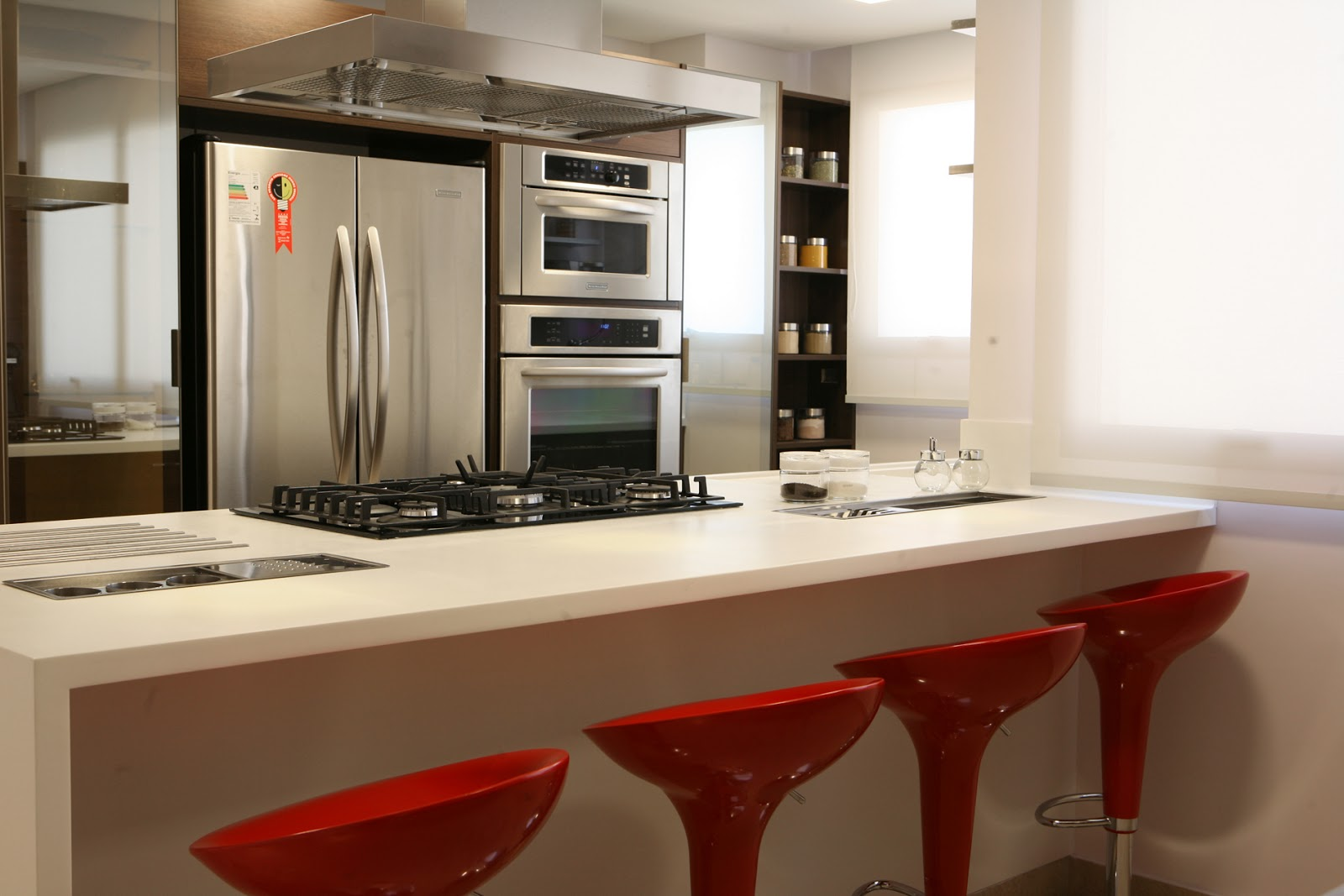 Decora O Para Cozinha Americana Simples