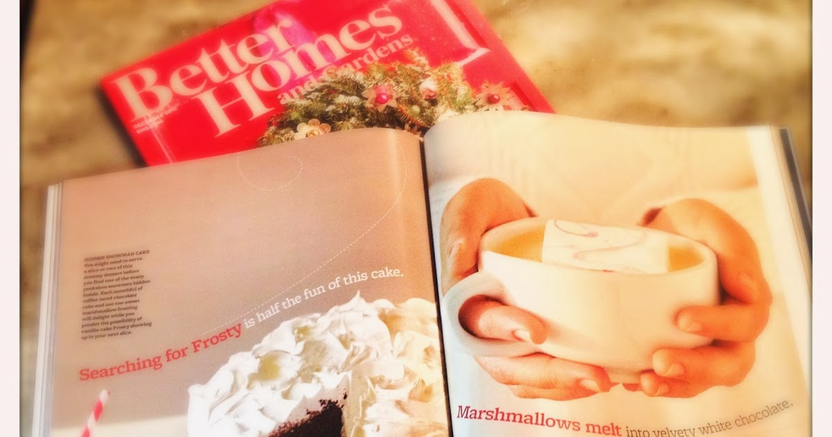 G Bakes Better Homes And Gardens December Issue