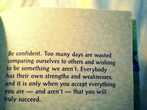 Be Confident - Motivational