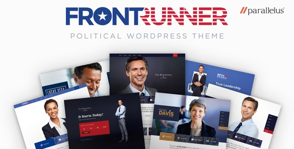 Political WordPress Theme - FrontRunner download