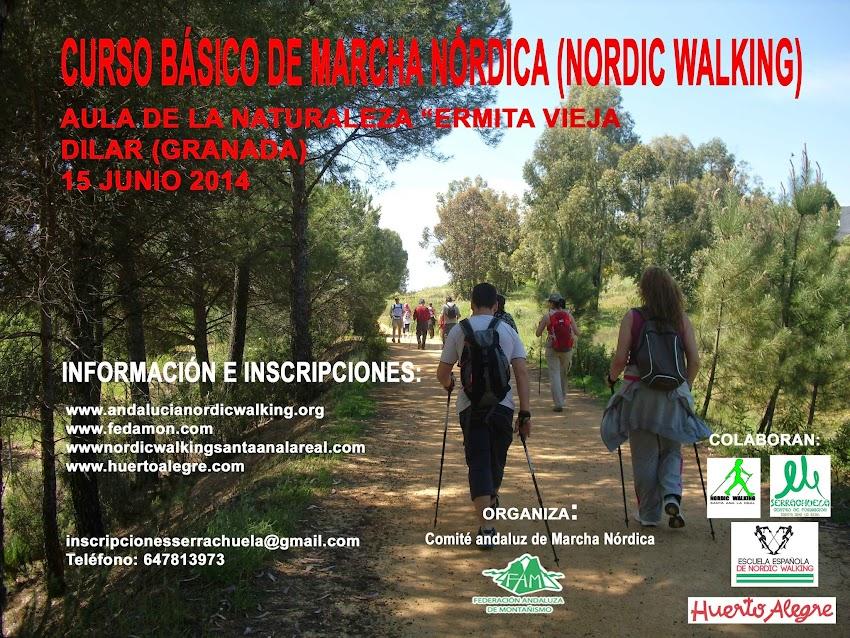 CURSO MARCHA NÓRDICA (NORDIC WALKING)