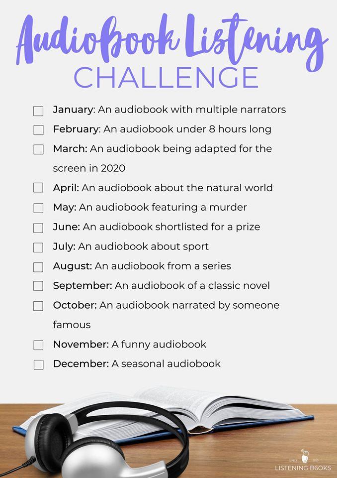 Audiobook Listening Challenge