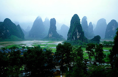 Montañas Gulin - China - que visitar