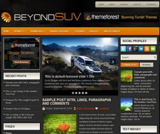 BeyondSuvs Blogger Template