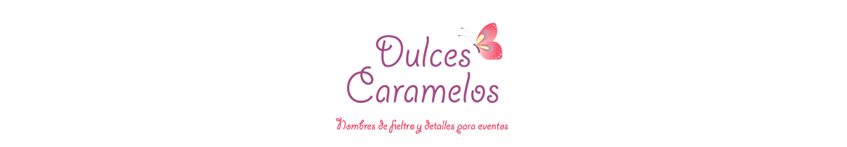 Fieltro DulcesCaramelos