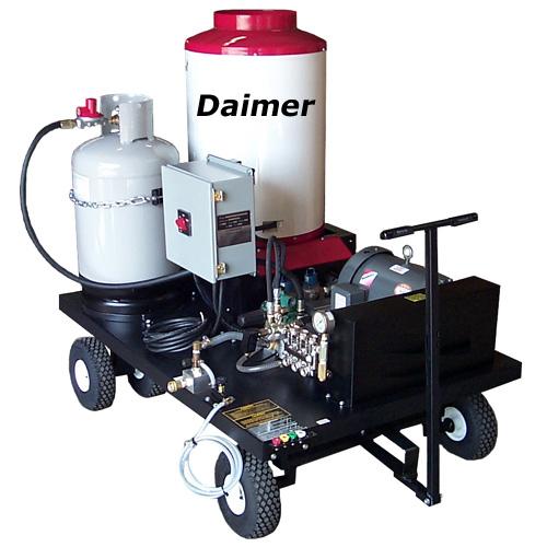 Pressure Washing Equipment : Hot water pressure washers