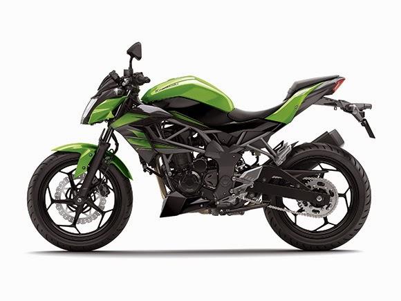 Gambar Motor Kawasaki Z250SL