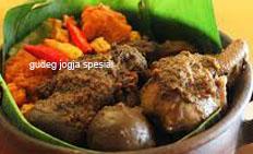 resep masakan indonesia gudeg jogja spesial khas yogyakarta praktis, mudah enak, gurih, lezat