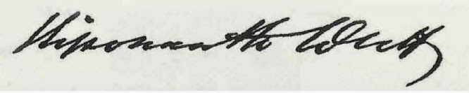 Signature of Vishwanath Datta