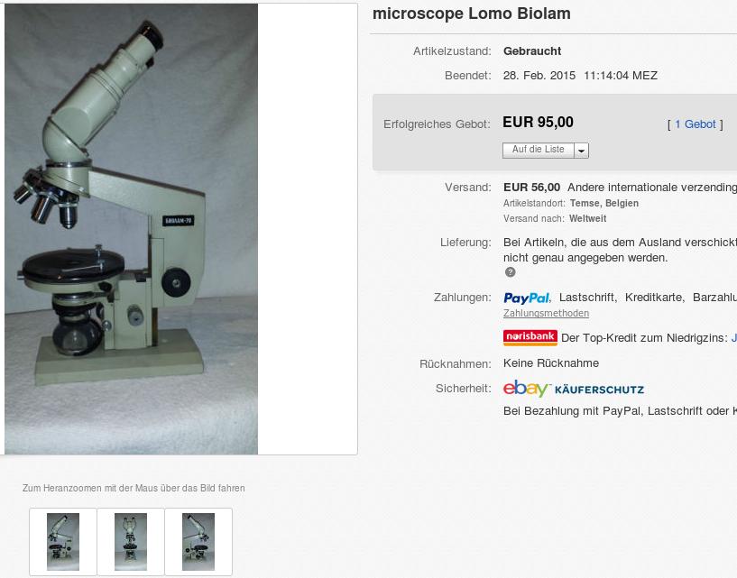 Bresser junior mikroskop set mit koffer