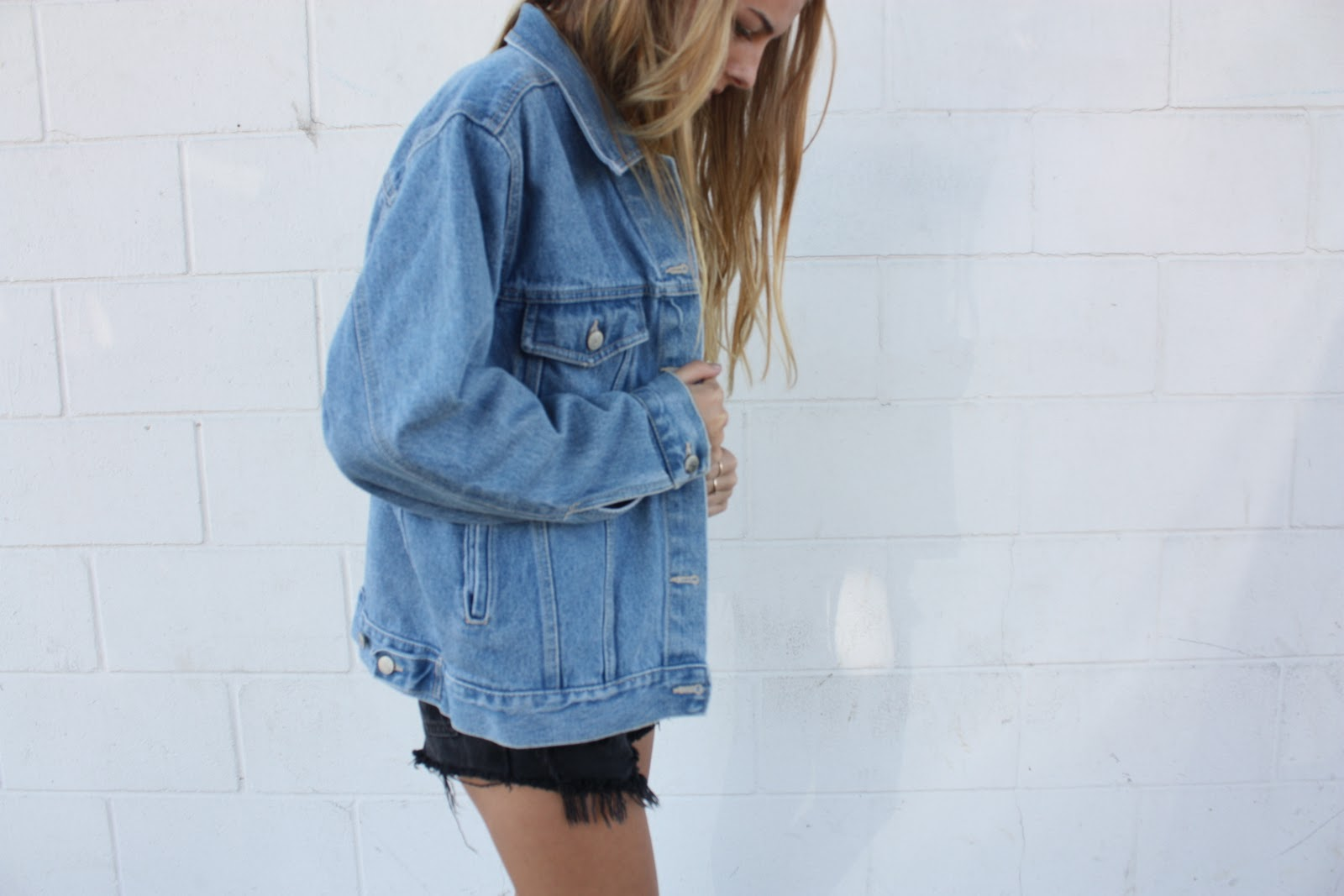 Trend Oversized Denim Jackets | Pandorau0026#39;s Secret box