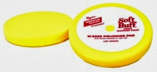 Meguiars 6.5 Soft Buff Velcro Back Foam Polishing Pad