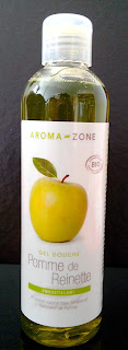 gel douche pomme aroma zone