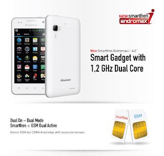 Gambar New Smartfren Andromax-i 4.0 Android Smartphone